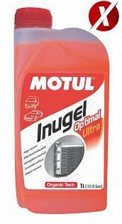 Антифриз Inugel Optimal Ultra G12+ 1L -30°C (оранжевый)